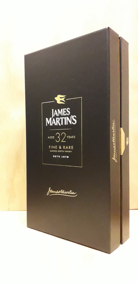 Scotch Whisky James Martin's Fine&Rare 32 Anos 43%alc. 70cl