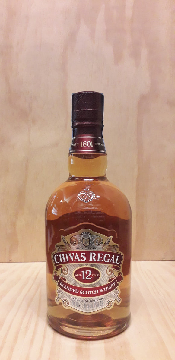 Chivas Regal 12 Year Old Whisky 40%alc. 70cl