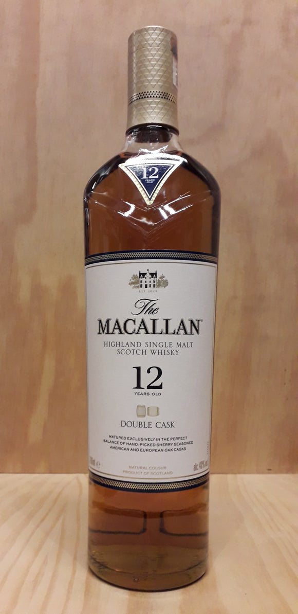 Malt Whisky MACALLAN 12Anos Double Cask 40%alc. 70cl