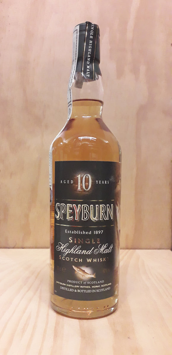 Single Malt Whisky SPEYBURN 10Anos 40%alc. 70cl