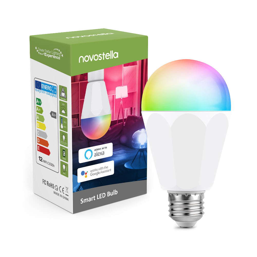 Novostella 1 Pack 13W WiFi RGBCW Brightest Smart Light Bulb