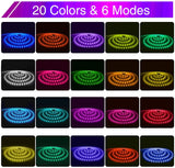52.5ft 16M IP65 RGB Strip Lights
