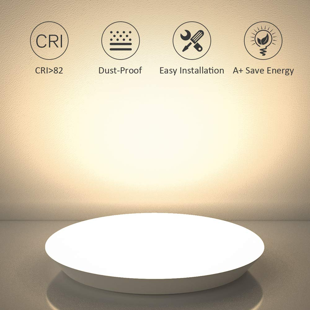 12inch 18W Warm White LED Ceiling Lights