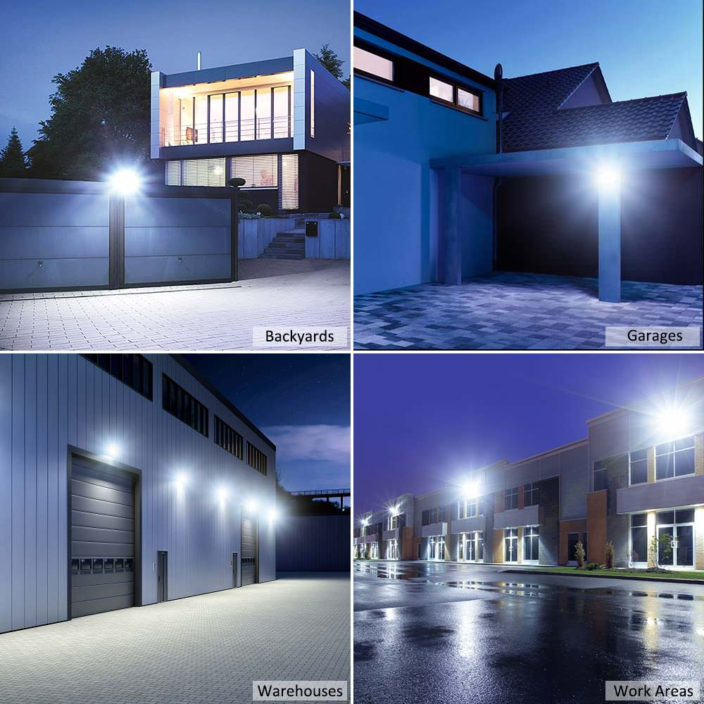 2 pack 30W Daylight White LED Flood Lights - Novostella
