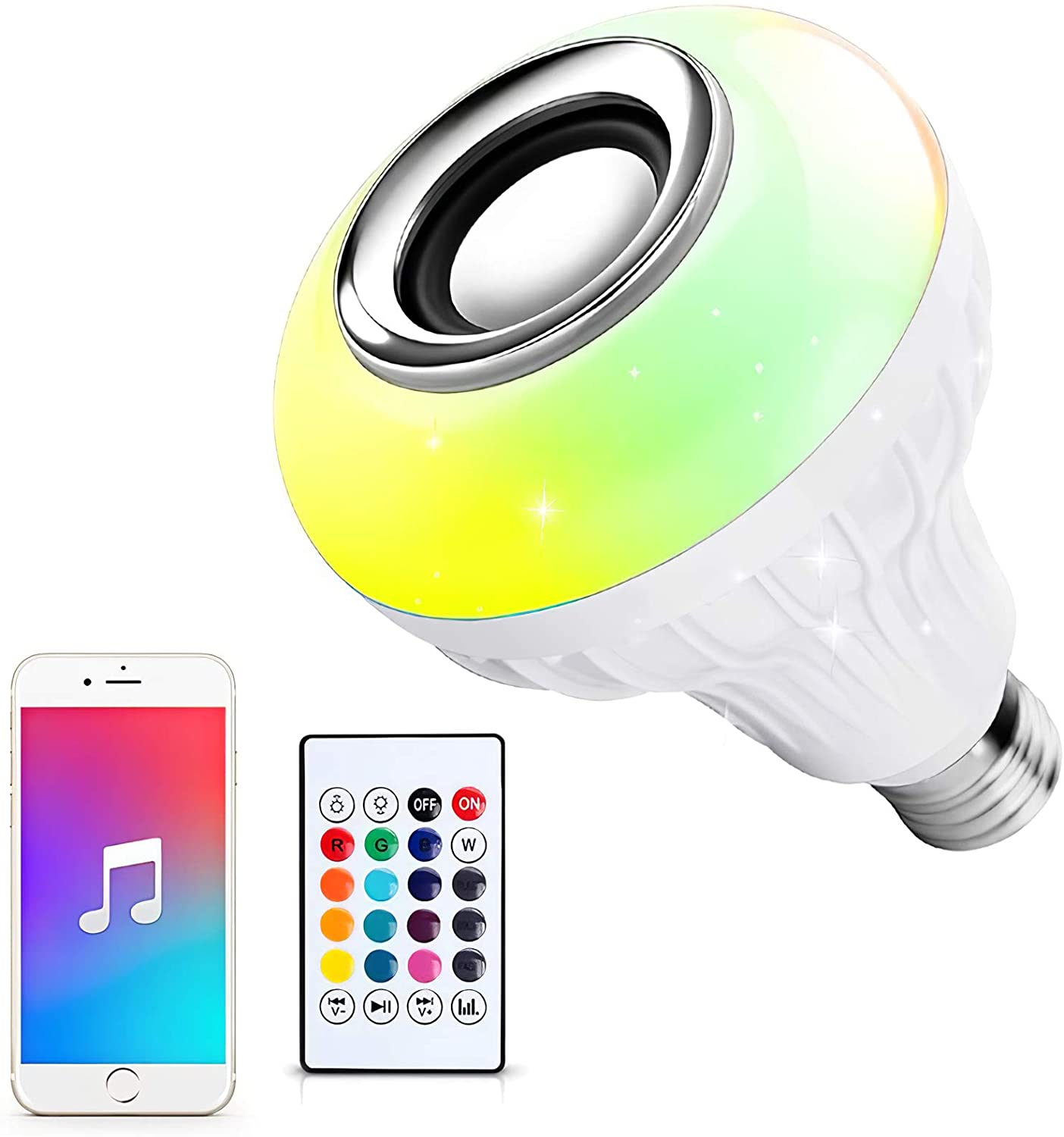 Novostella RGB Bluetooth Music Bulb