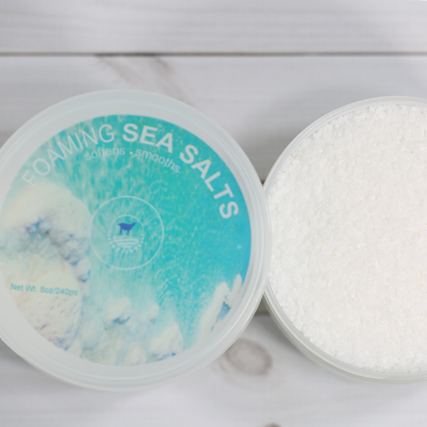 Pamper Your Skin With Our Invigorating Foaming Sea Salts