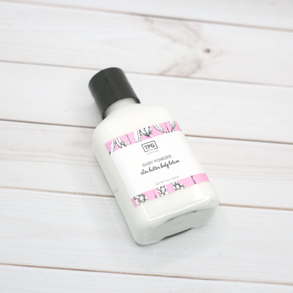 Mini Shea Butter Body Lotion - Baby Powder