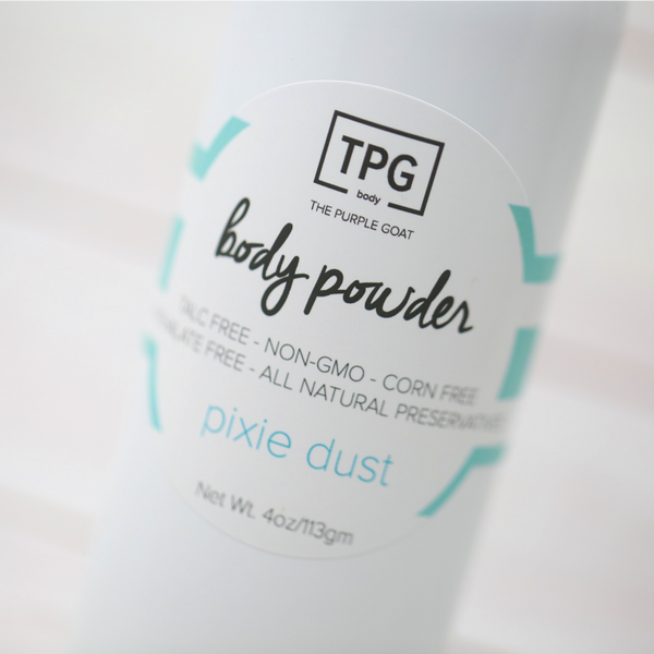 Body Powder For Baby (Or You) - Pixie Dust