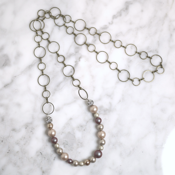 Cute stone necklace for any outfit