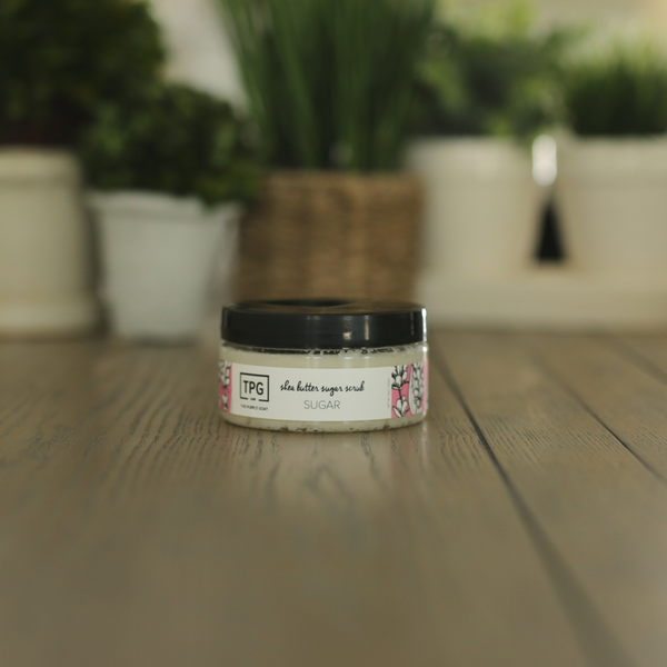 Shea Butter Sugar Scrub - Sugar
