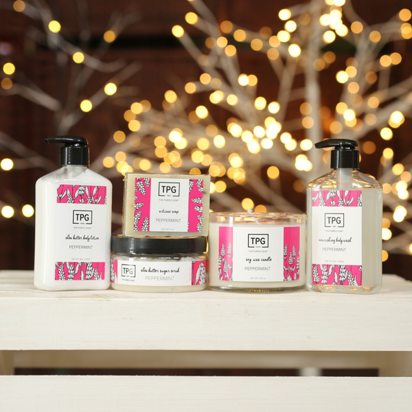 The Peppermint Collection Gift Set