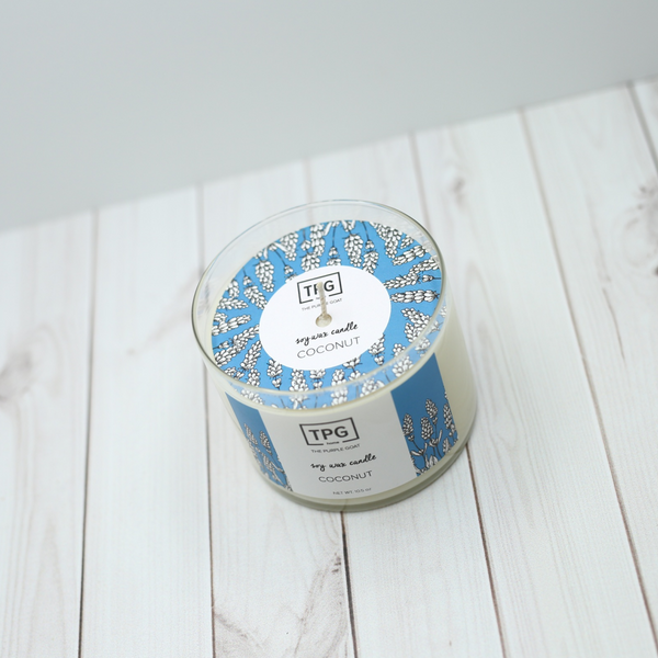 Soy Jar Candle - Coconut