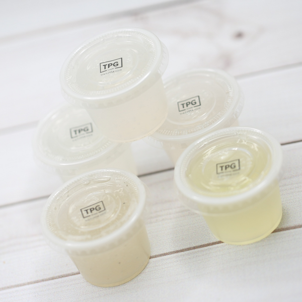 Sample Cups - Body Wash & Scrubs