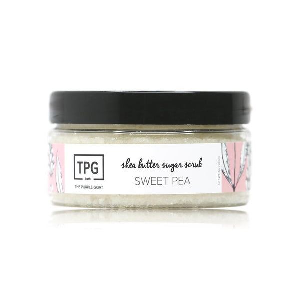 Shea Butter Sugar Scrub - Sweet Pea