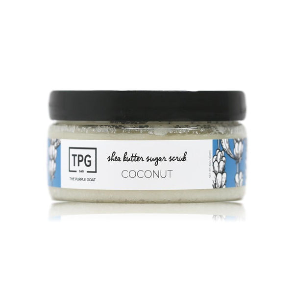 Shea Butter Sugar Scrub - Coconut