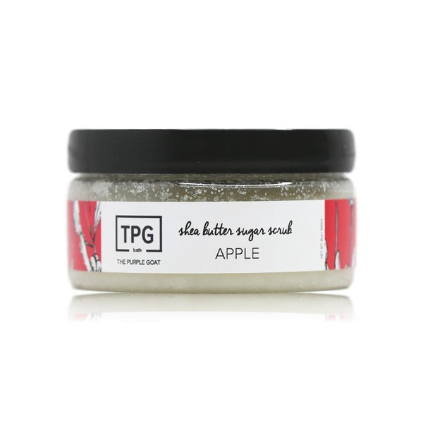 Shea Butter Sugar Scrub - Apple