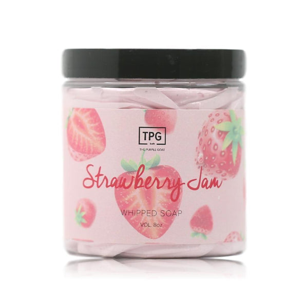 Whipped Soap - Strawberry Jam