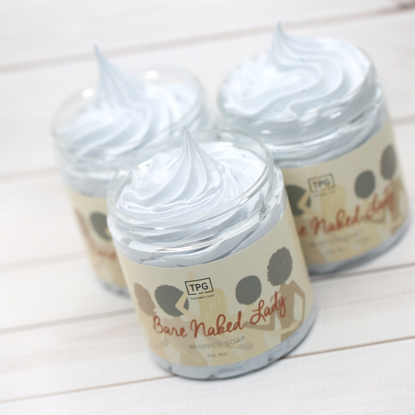 Whipped Soap - Bare Naked Lady