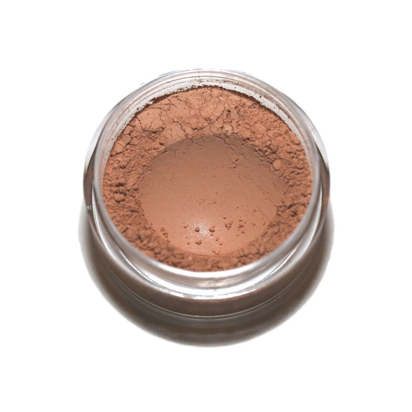 Full Coverage Matte Finish Foundation Loose Mineral Powder (Medium Tan)