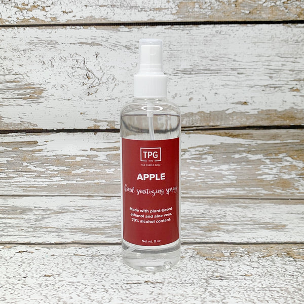 Hand Sanitizing Spray - Apple