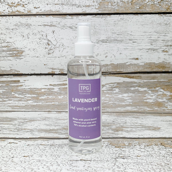 Hand Sanitizing Spray - Lavender