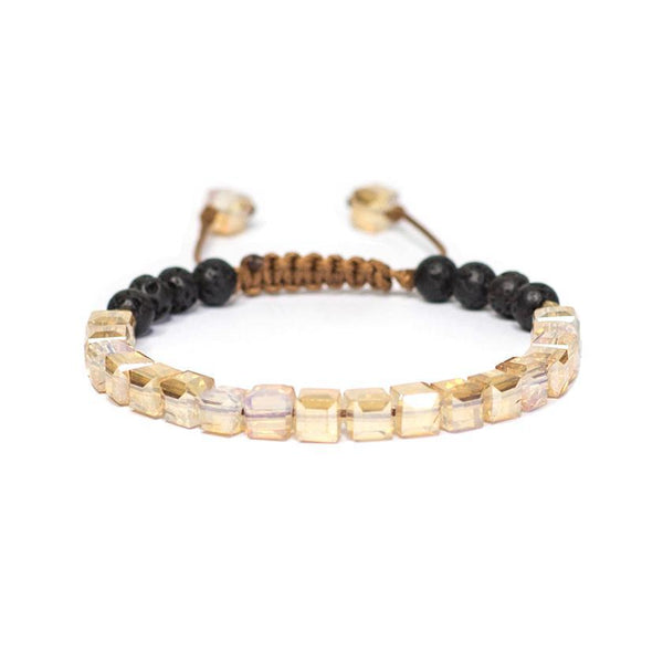 Essential Oil Diffusing Bracelet - Champagne