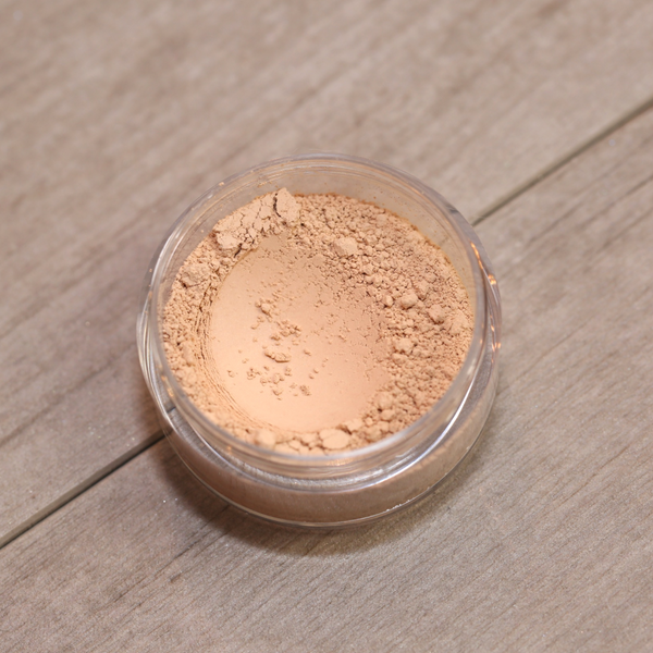 Full Coverage Matte Finish Foundation Loose Mineral Powder (Fairly Light)
