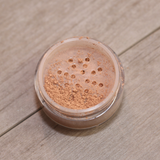 Full Coverage Matte Finish Foundation Loose Mineral Powder (Tan)