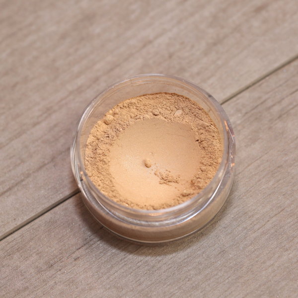 Soft Focus Satin Finish Foundation Loose Mineral Powder (Yellow Opal)