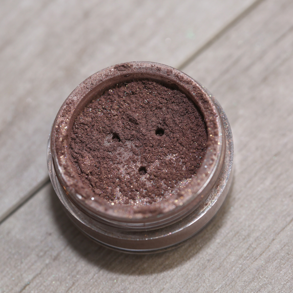 Mineral Eye Shadow Shimmer Powder (Iced Brown)