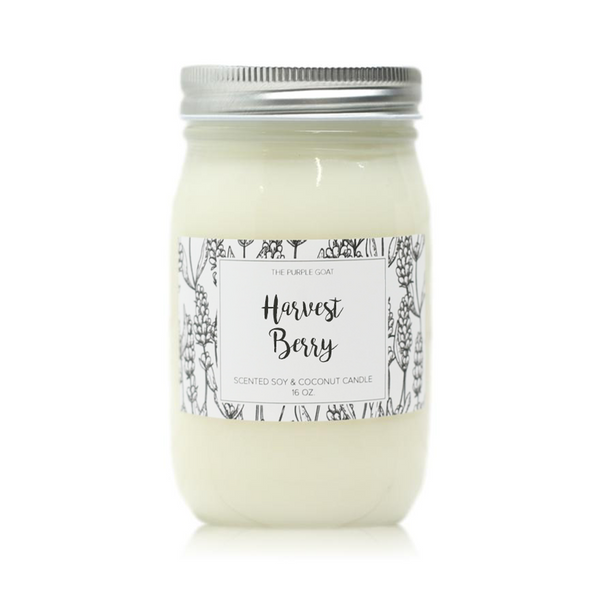 Harvest Berry Soy Candle