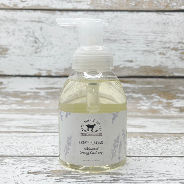 Antibacterial Foaming Hand Soap - Honey Almond