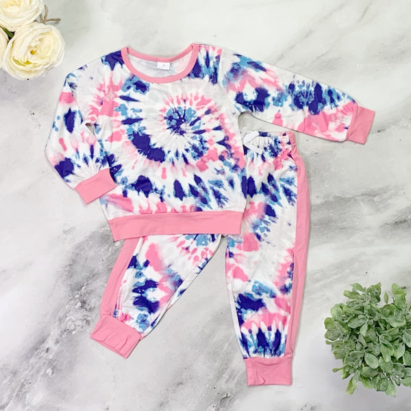Callie Pants Set - Tie Dye