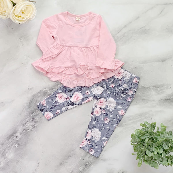 Wendy Pants Set - Pink