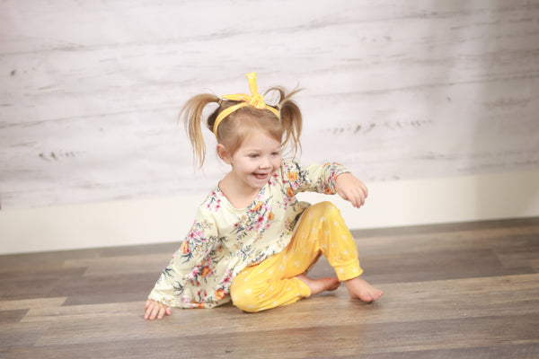 Tricia Pants Set - Yellow
