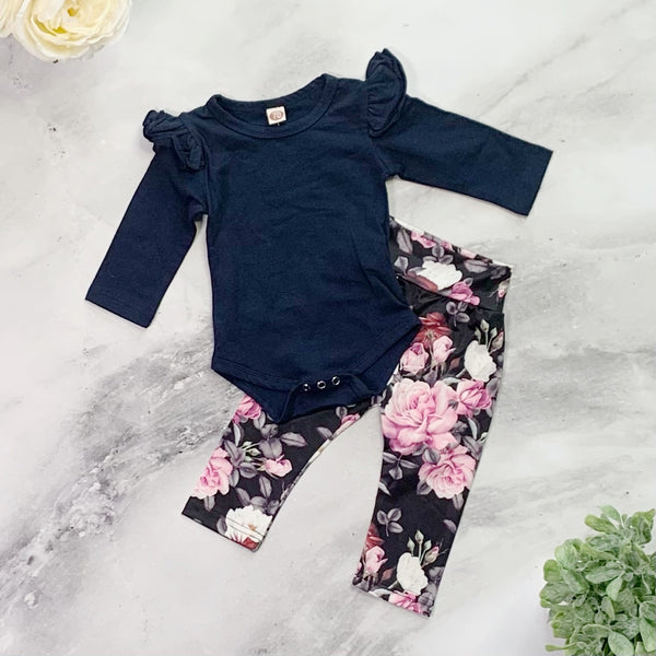 Deliliah Pants Set - Blue