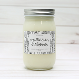 Mulled Cider & Chestnuts Soy Candle