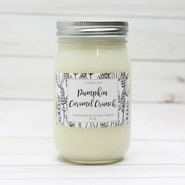 Pumpkin Caramel Crunch Soy Candle