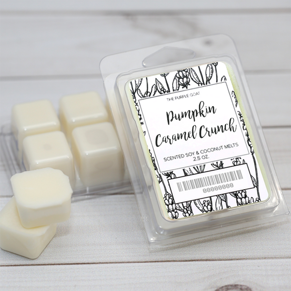 Pumpkin Caramel Crunch Soy Wax Melt