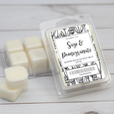 Sage & Pomegranate Wax Melt