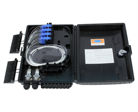 Wall Mount Fiber Optic Distribution Boxes