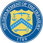 US Department of Treasury Logo