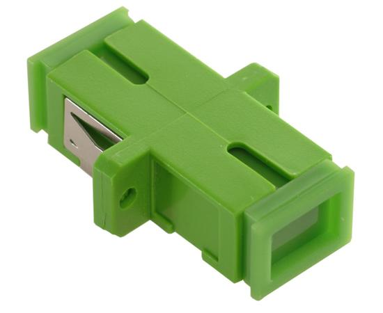 SC/APC Simplex Single Mode Fiber Adapter/Coupler