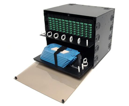FB23-3926RPS12 Slide-Out Style Combination Patch and Slice Distribution Panels - Rack Mount FDP 8.5RU