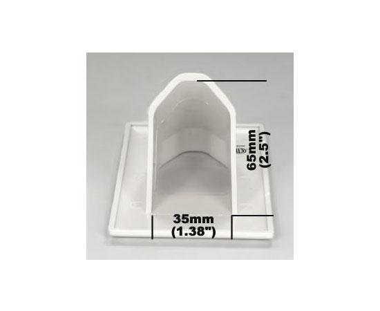 1-Gang Recessed Wall Plate - recess dimensions