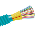 Armored Plenum Fiber Optic Cable, Multimode 10 Gig OM4, Indoor Distribution