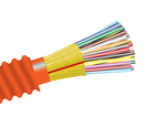 Armored Plenum Fiber Optic Cable, Multimode OM1, Indoor Distribution