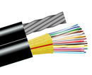 Aerial Fiber, Polyethylene Single Mode, Outdoor Cable with Messenger