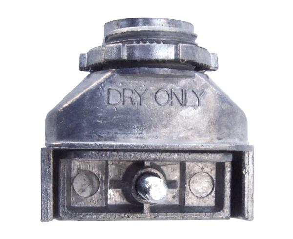 "Single Screw Duplex Connector, Zinc die-cast for Flex "" AC "" MCI "" MCI-A "" NM cable"