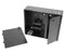 Dual Door Fiber Wall Mount Enclosure, 2 Splice Tray & 2 Panel Capacity, Black